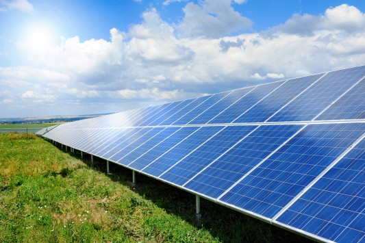 We do grounds maintenance for large ground mounted solar array systems